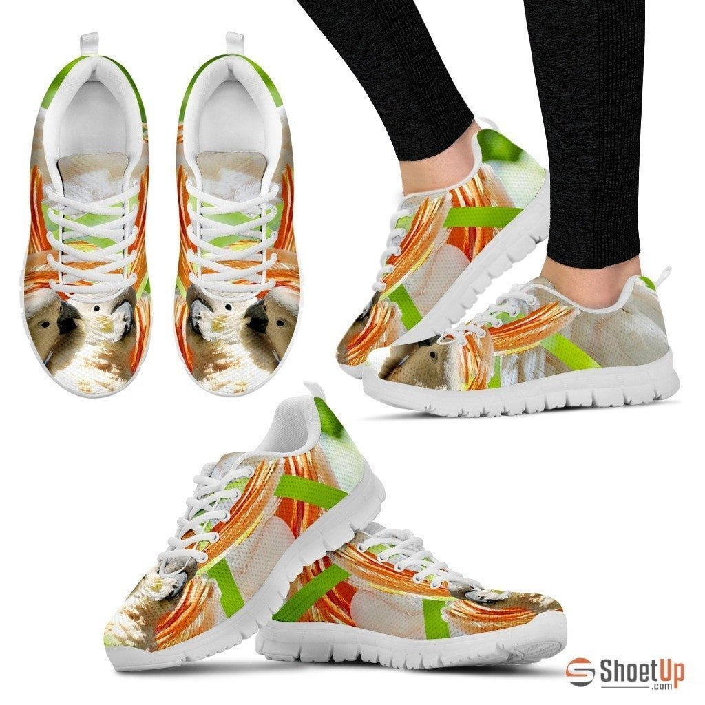 Cute Cockatoos Parrot Running Shoe For Women- Free Shipping - Deruj.com