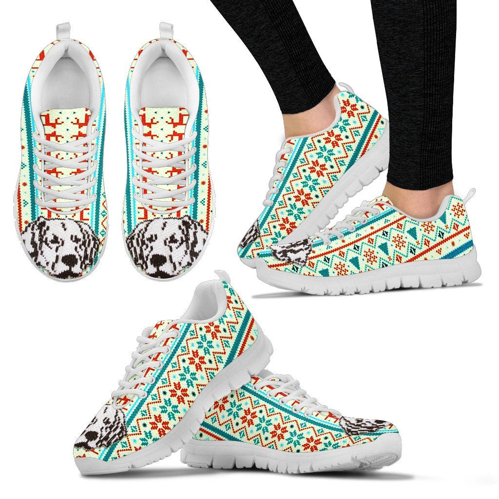Labrador Retriever Christmas Running Shoes For Women- Free Shipping - Deruj.com