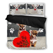Valentine's Day Special-Chihuahua Dog Print Bedding Set-Free Shipping