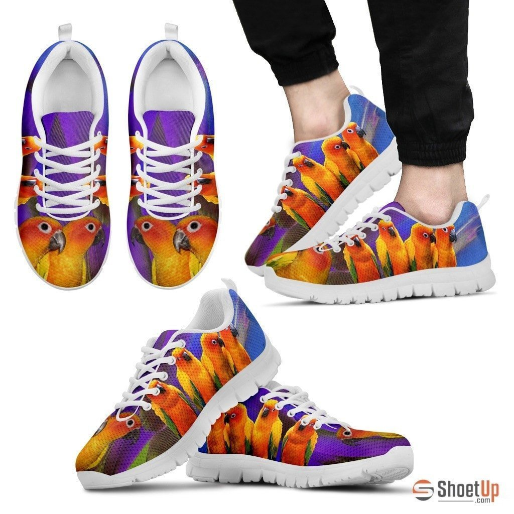 Conure Parrot Running Shoes For Men-Free Shipping Limited Edition - Deruj.com
