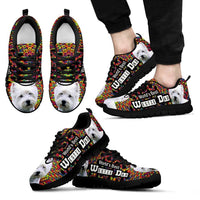 'World's Best West Highland White Terrier Dad' Running Shoes-Father's Day Special - Deruj.com