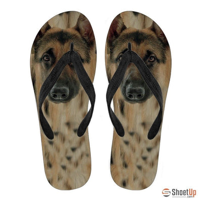 German Shepherd Flip Flops For Men- Free Shipping - Deruj.com