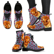 Valentine's Day Special-Nova Scotia Duck Tolling Retriever Print Boots For Women-Free Shipping - Deruj.com