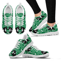 Spotted Saddle Horse Christmas Running Shoes For Women- Free Shipping - Deruj.com