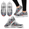 Flying African Grey Parrot Christmas Print Running Shoes For Women-Free Shipping - Deruj.com