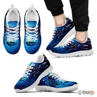 Dolphin Shark Running Shoes(Men/Women)-3D Print-Free Shipping - Deruj.com
