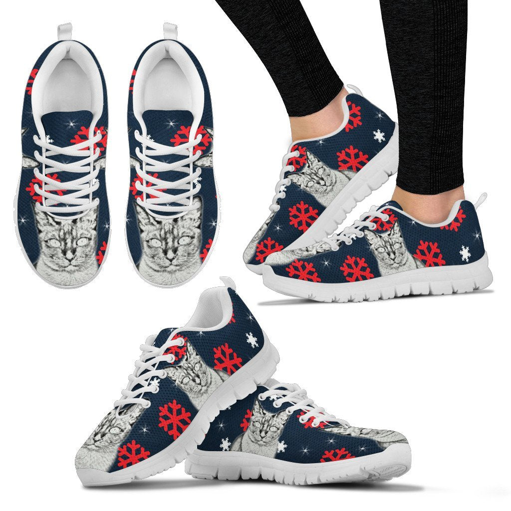 Tonkinese Cat Print Christmas Running Shoes For Women-Free Shipping - Deruj.com