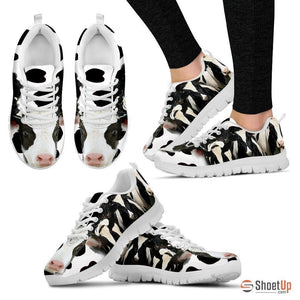 Cow Print Running Shoe For Women- Free Shipping - Deruj.com
