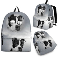 Boston Terrier Print Backpack- Express Shipping - Deruj.com