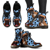 Boxer Print Boots For Women-Express Shipping - Deruj.com