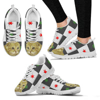 Scottish Fold Cat Christmas Print Running Shoes For Women-Free Shipping