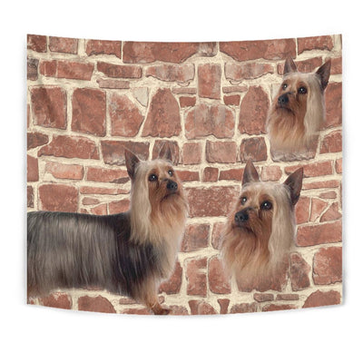 Australian Silky Terrier Print Tapestry-Free Shipping - Deruj.com