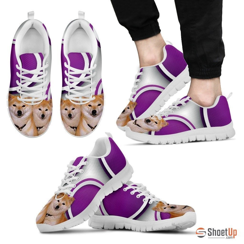 Shiba Inu Dog Running Shoes For Men-Free Shipping - Deruj.com