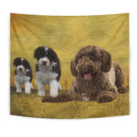 Spanish Water Dog Print Tapestry-Free Shipping - Deruj.com
