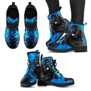 Valentine's Day Special-Newfoundland Dog Print Boots For Women-Free Shipping - Deruj.com