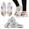 Turkish Van Christmas Running Shoes For Women- Free Shipping - Deruj.com