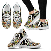 Lovely Boston Terrier Print-Running Shoes For Women-Express Shipping - Deruj.com