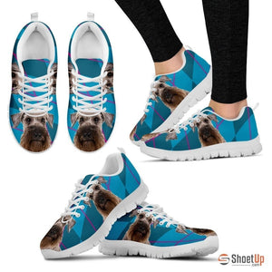 Cesky Terrier Dog (White/Black) Running Shoes For Women-Free Shipping - Deruj.com