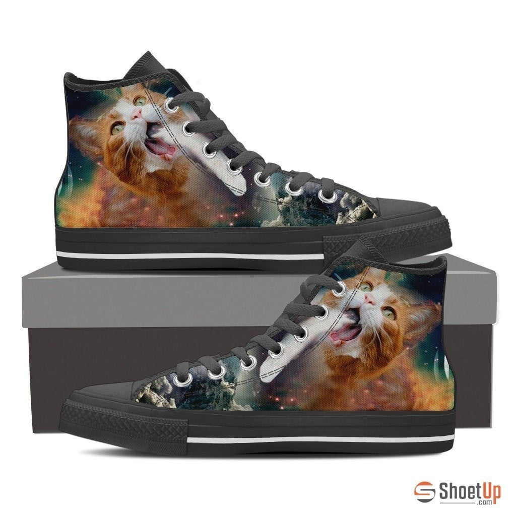 Cat Canvas Women's Shoes- Free Shipping
