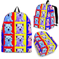 West Highland White Terrier Print BackPack - Express Shipping - Deruj.com