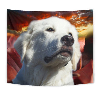 Great Pyrenees Dog Print Tapestry-Free Shipping - Deruj.com