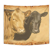 Dexter Cattle (Cow) Art Print Tapestry-Free Shipping - Deruj.com
