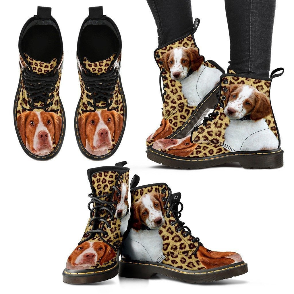 Brittany Print Boots For Women-Express Shipping - Deruj.com