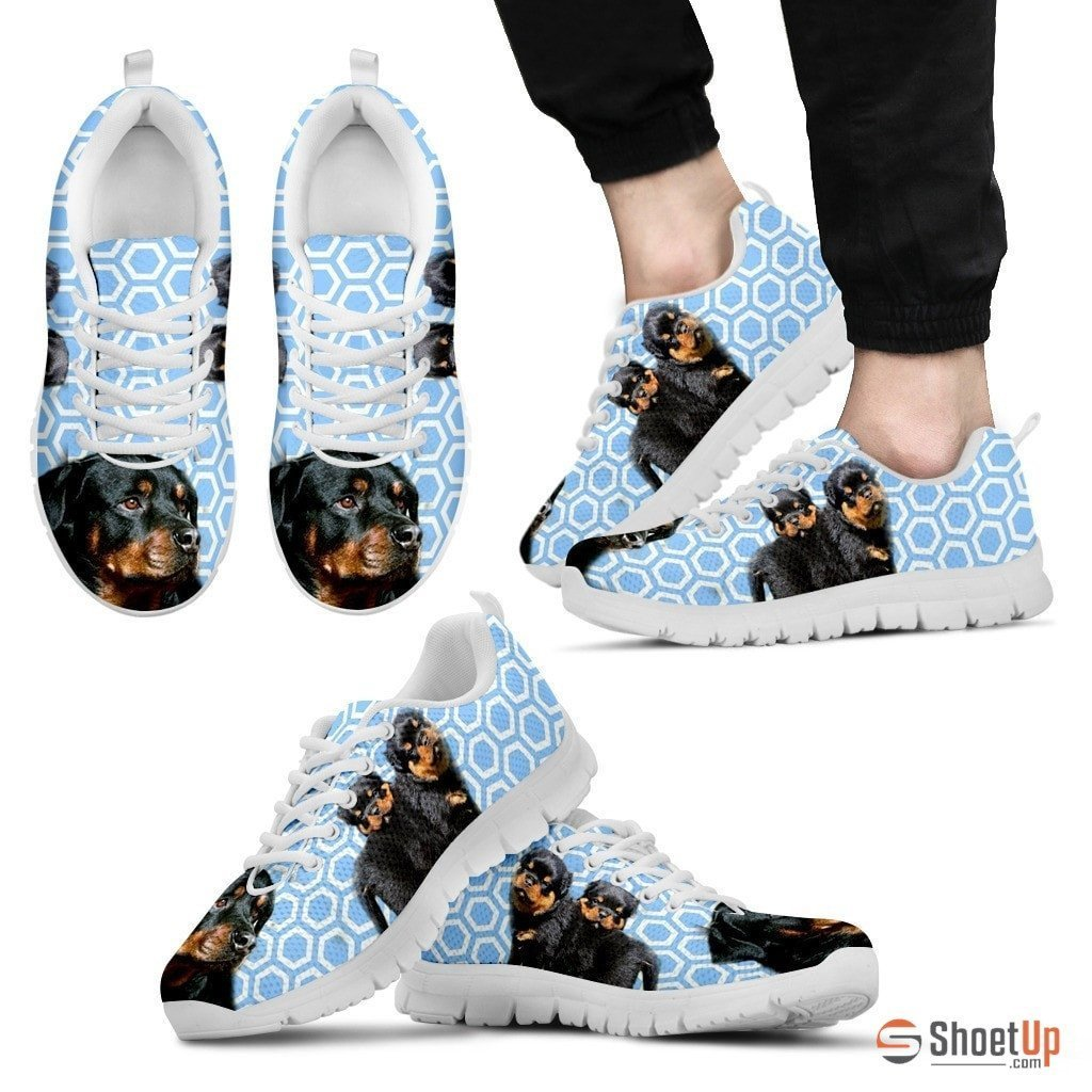 Rottweiler-Dog Shoes For Men-Free Shipping Limited Edition - Deruj.com