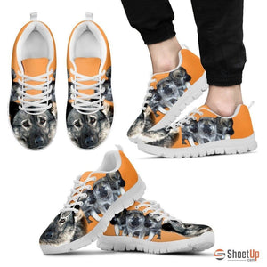 Norwegian Elkhound-Dog Running Shoes For Men-Free Shipping Limited Edition - Deruj.com