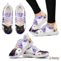 Margaret Hennessee/Cat-Running Shoes For Women-3D Print-Free Shipping - Deruj.com