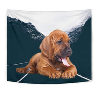 Bloodhound Dog Print Tapestry-Free Shipping - Deruj.com