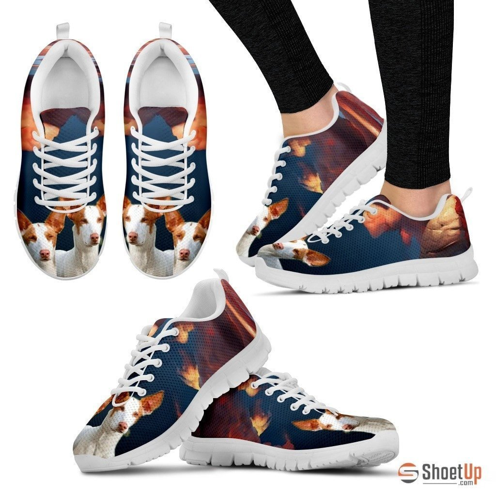 Ibizan Hound (Podenco Ibicenco) Dog Running Shoes For Women-Free Shipping - Deruj.com
