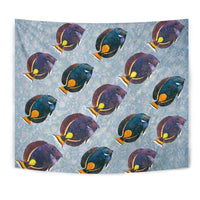 Acanthurus Achilles Fish Print Tapestry-Free Shipping - Deruj.com