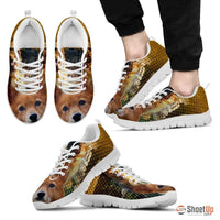 Finnish Spitz Dog Print Shoe (Men/Women)- Free Shipping - Deruj.com
