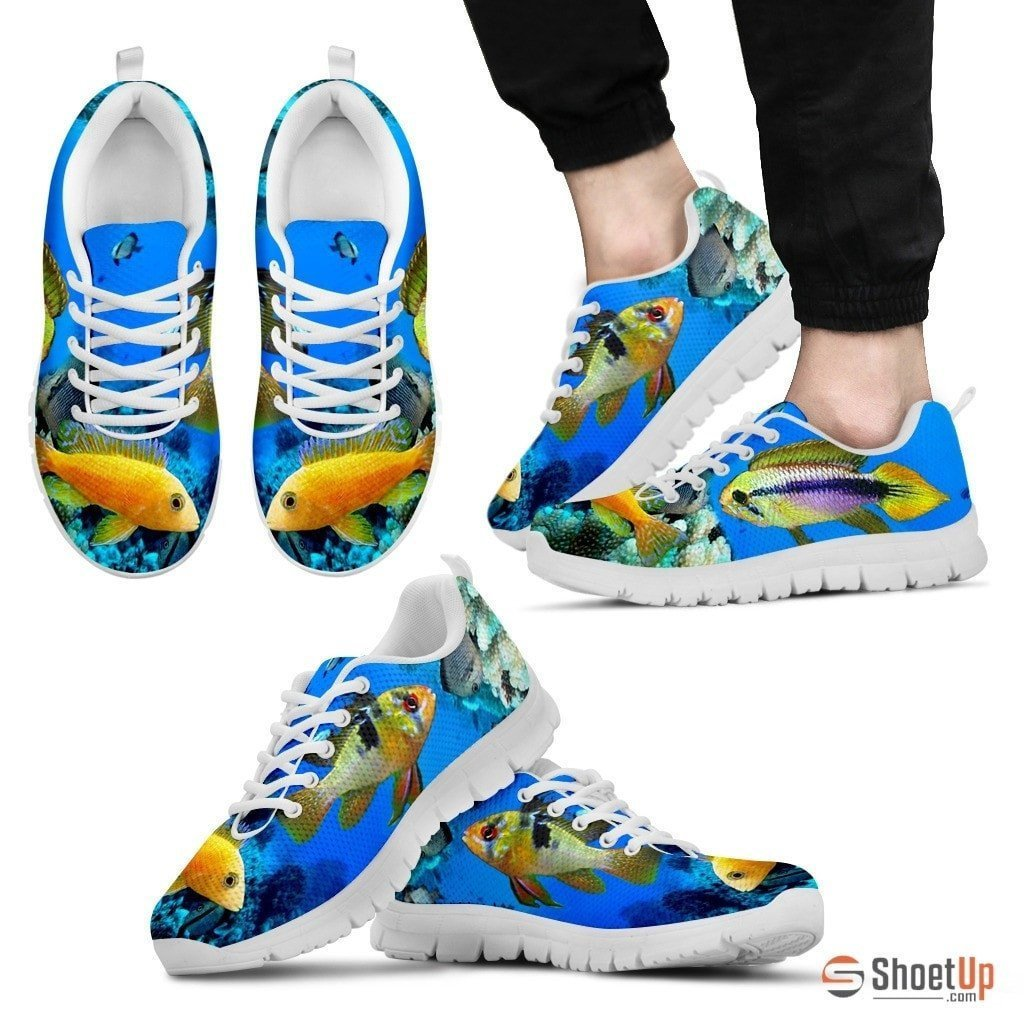 Dwarf Cichlid Fishes-Running Shoes For Men-Free Shipping Limited Edition - Deruj.com