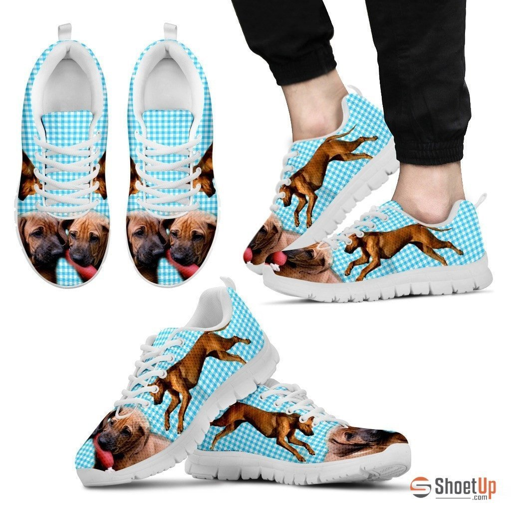 Rhodesian Ridgeback-Dog Shoes For Men-Free Shipping Limited Edition - Deruj.com