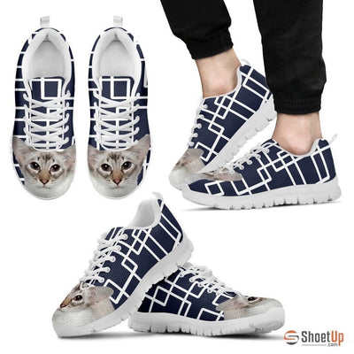 Balinese Cat Print Running Shoes For Men-Free Shipping - Deruj.com