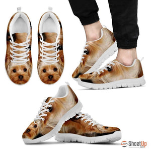 Yorkshire Terrier-Men's Running Shoes-Free Shipping - Deruj.com