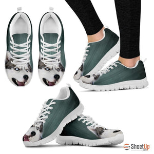 Siberian Husky-Dog Shoes For Women-Free Shipping - Deruj.com