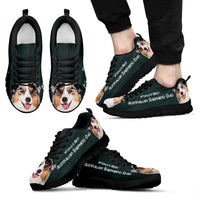 'World's Best Australian Shepherd Dad' Running Shoes- Father's Day Special - Deruj.com