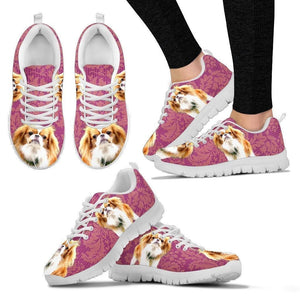 Customized Dog Print-Running Shoes For Women-Designed By Mary Wagman - Deruj.com
