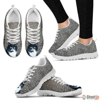 Amanda Keller/Cat-Running Shoes For Women-3D Print-Free Shipping - Deruj.com
