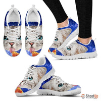 Cat Eat Pizza Running Shoes-3D Print For Women-Free Shipping - Deruj.com