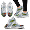 Mini Macaw Parrot Print Christmas Running Shoes For Women-Free Shipping - Deruj.com