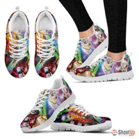 Printed Women's Running shoes- Free Shipping - Deruj.com