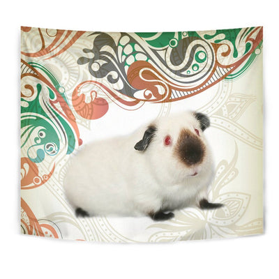 Cute Himalayan guinea pig Print Tapestry-Free Shipping - Deruj.com