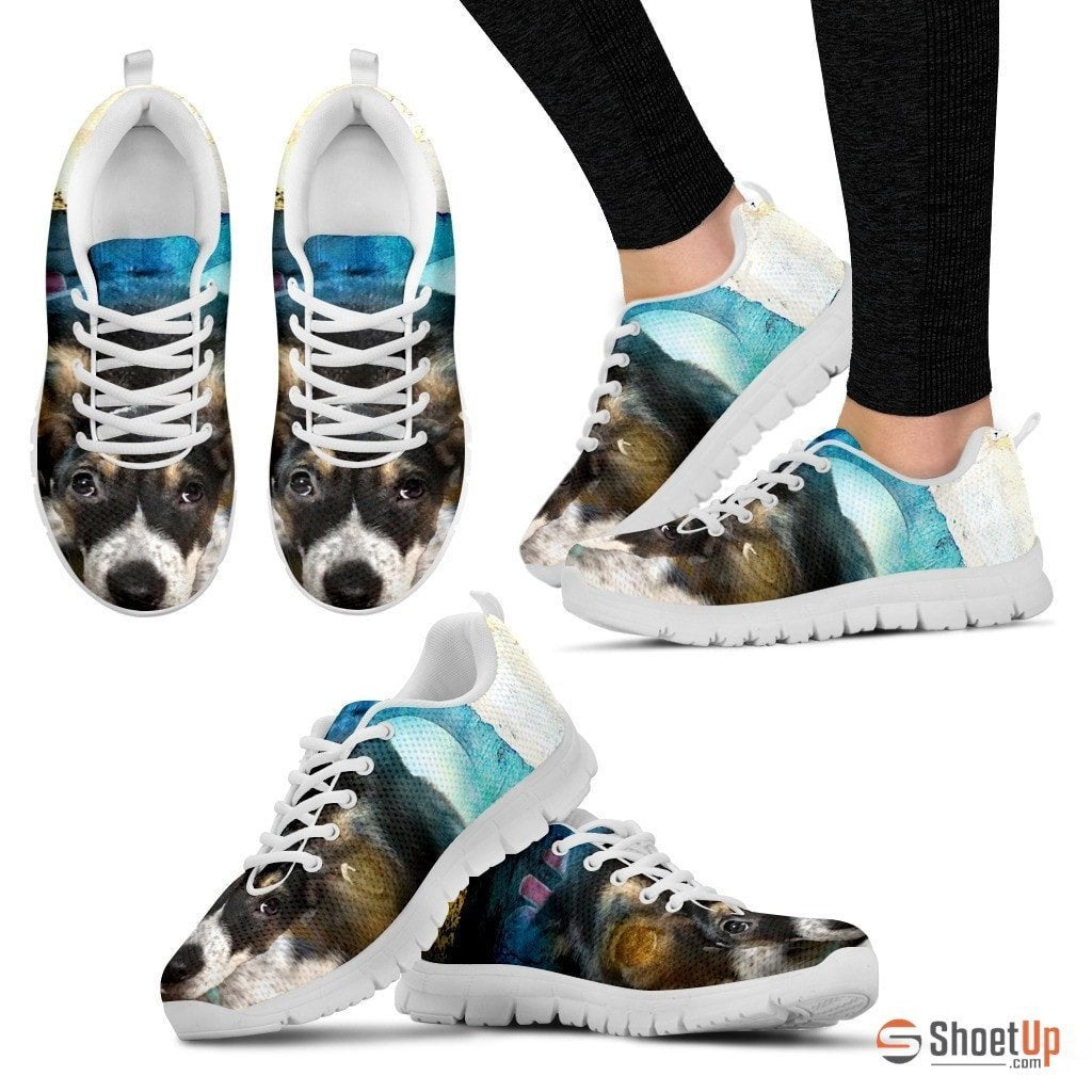 Samantha Burke/ Dog Print Running Shoe For Women- Free Shipping - Deruj.com