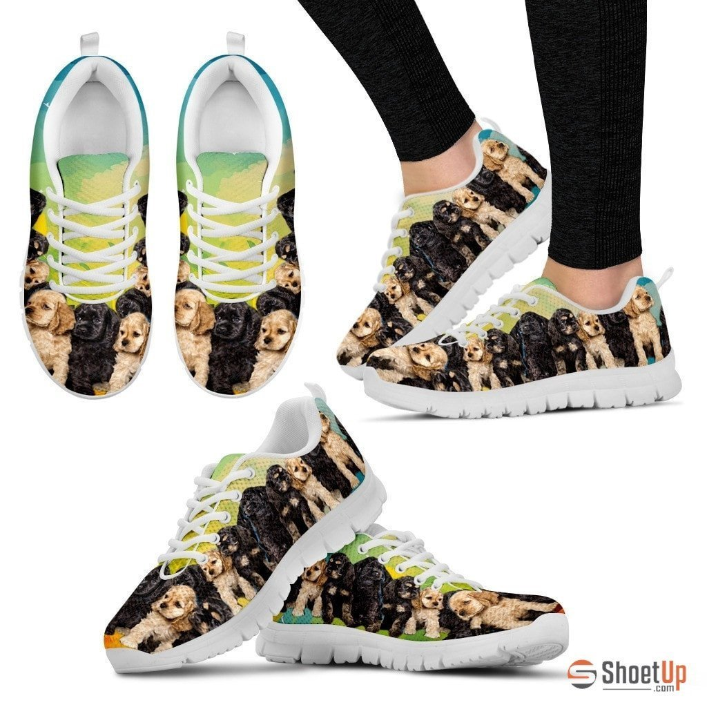 Cocker Spaniel Dogs-Running Shoes For Women-Free Shipping - Deruj.com