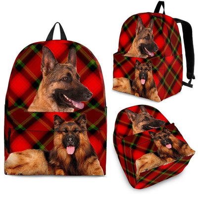 German Shepherd Dog Print Backpack-Express Shipping - Deruj.com
