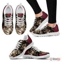 Elizabeth M Priest Cute Dog Print Running Shoe For Women- Free Shipping - Deruj.com